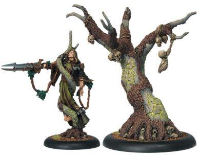 Hordes Circle Orboros Cassius the Oathkeeper & Wurmwood, Tree of Fate ON SALE
