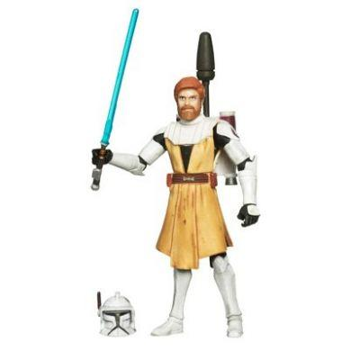Star Wars The Clone Wars: Obi-Wan Kenobi Action Figure 1st Day Of Issue