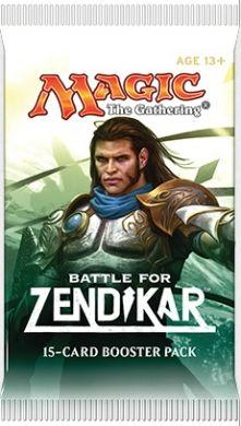 Magic the Gathering: Battle for Zendikar Booster
