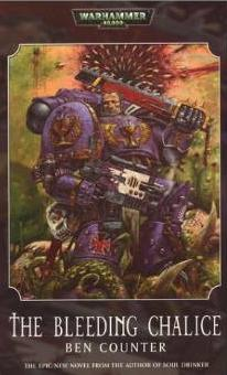 Warhammer 40,000: The Bleeding Chalice - Damaged Cover