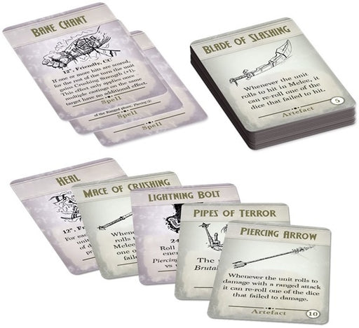 Kings of War 3rd Ed: Spell & Artefact Cards Pre Order