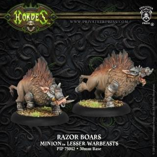 Hordes Minions Razor Boars ON SALE