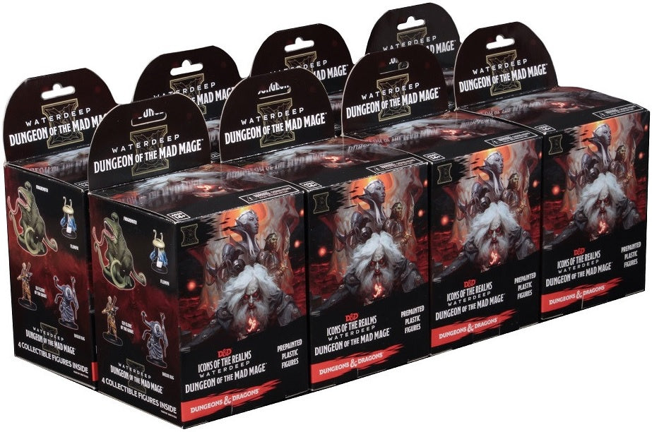 D&D Icons of the Realm Waterdeep Dungeon of the Mad Mage Booster Brick