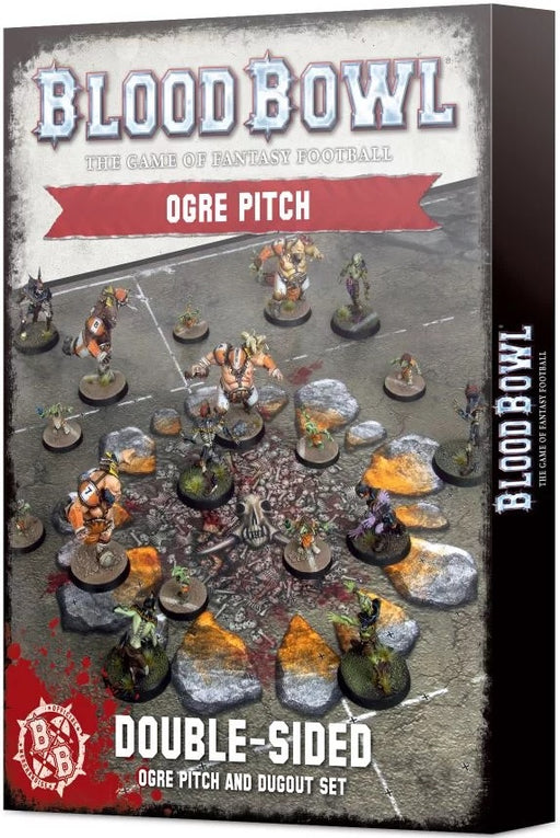 Blood Bowl Ogre Team Pitch & Dugouts Pre Order