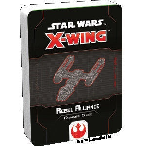 Star Wars X-Wing 2nd Edition Rebel Alliance Damage Deck