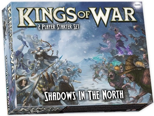 Kings of War 3rd Ed: Shadows in the North 2 Player Starter Set Pre Order