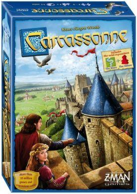 Carcassonne Base Game: New Edition