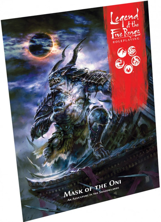Legend of Five Rings RPG Mask of the Oni Adventure Book