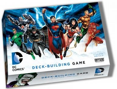 DC Comics Deck-building Game ( dented box )