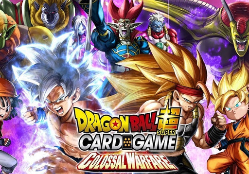 Dragon Ball Super Card Game Booster 04 Colossal Warfare Booster Box