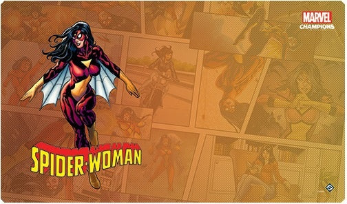 Marvel Champions LCG SpiderWoman Game Mat