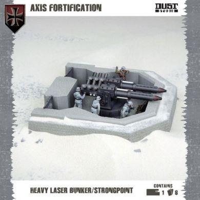 Dust Tactics: Axis Fortification - Heavy Laser Bunker / Strongpoint ON SALE