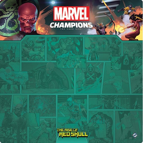 Marvel Champions LCG Red Skull 1-4 Player Game Mat