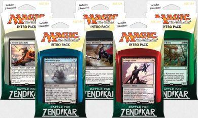 Magic the Gathering: Battle for Zendikar Intro Set of 5