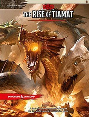 D&D Adventure: The Rise Of Tiamat 5th Ed