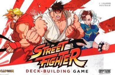 CapCom Street Fighter Deck-Building Game