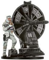 Star Wars Miniatures: 43 Hoth Trooper with ATGAR Cannon