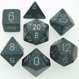 Dice Set Hi-Tech Speckled (7)