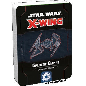 Star Wars X-Wing 2nd Edition Galactic Empire Damage Deck