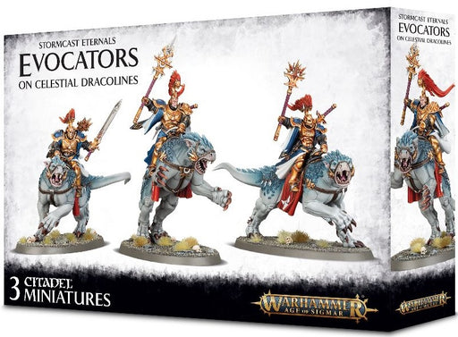 Stormcast Eternals Evocators on Celestial Dracolines 96-41