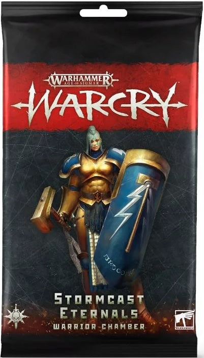 Warcry Stormcast Eternals Warrior Chamber Card Pack
