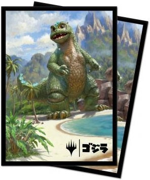 Ultra Pro Ikoria Babygodzilla, Ruin Reborn Standard Deck Protector sleeves 100ct for Magic: The Gathering