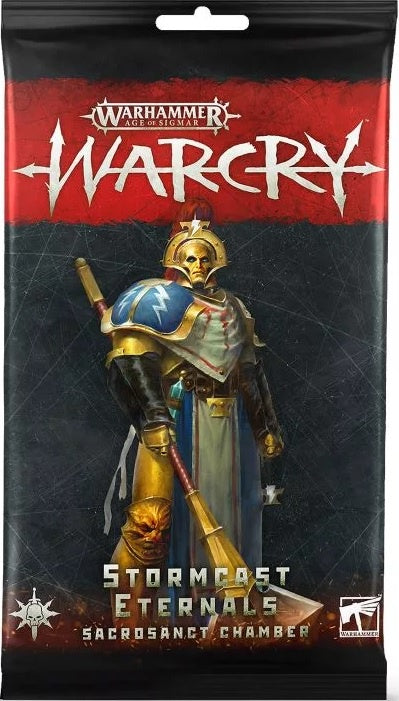 Warcry Stormcast Eternals Sacrosanct Chamber Cards