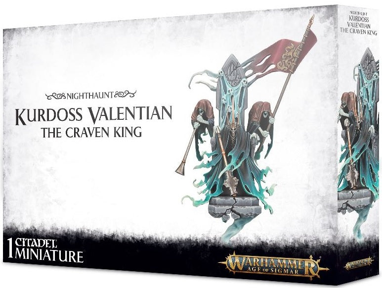 Nighthaunt Kurdoss Valentian, The Craven King 91-24