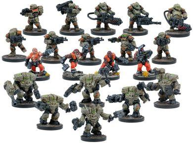 Deadzone 2nd Edition Forge Father Faction Starter