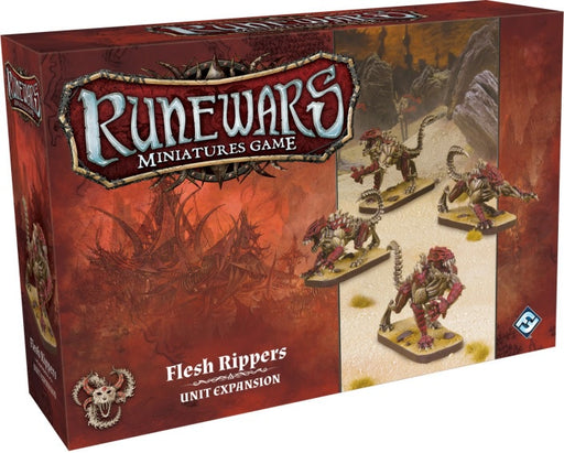 Runewars Miniatures Game: Flesh Rippers Unit Expansion