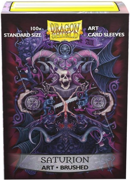 Dragon Shield Sleeves Box 100 Brushed Art Saturion