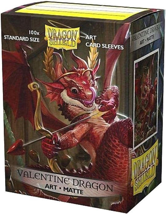 Dragon Shield Sleeves Box 100 MATTE Art Valentine Dragon 2020