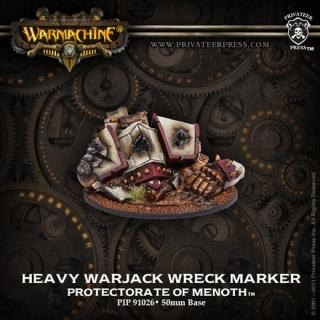 Warmachine Protectorate of Menoth Heavy Warjack Wreck Marker PIP91026