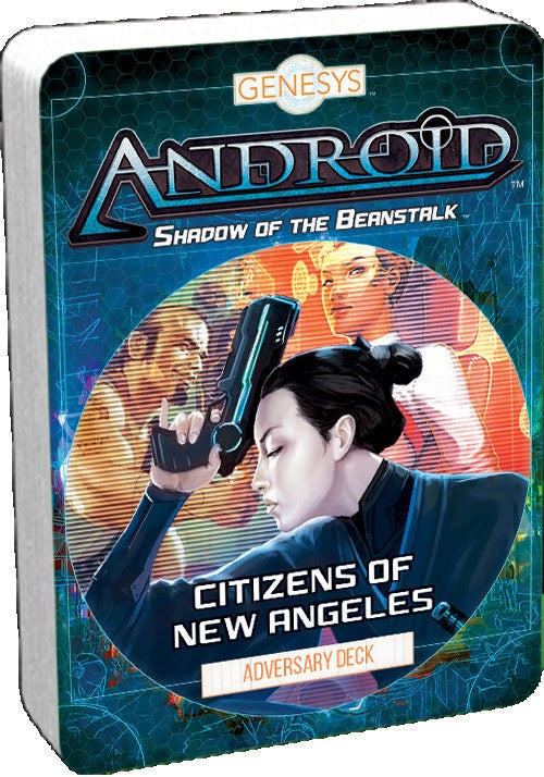 Android Shadow of the Beanstalk - Citizens of New Angeles Adversary Deck