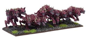 Kings of War - Forces of the Abyss Hellhound Troop