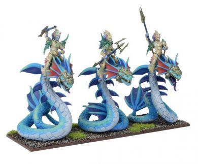 Kings of War - Forces of Nature Naiad Wyrmriders Regiment