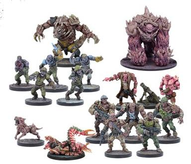 Deadzone 2nd Edition Plague Faction Booster