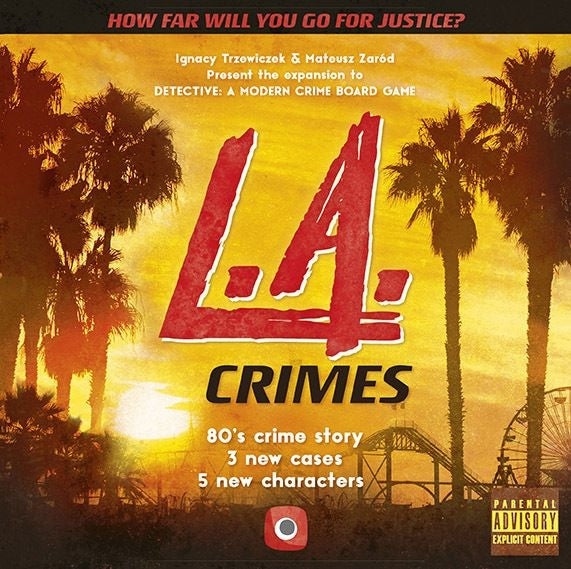 Detective: A Modern Crime Board Game LA Crimes