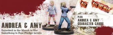 The Walking Dead: Andrea Exclusive Booster ON SALE