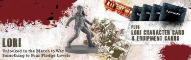 The Walking Dead: Lori Exclusive Booster ON SALE