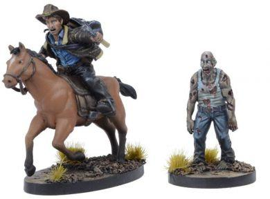 The Walking Dead: Rick on Horse Exclusive Booster ON SALE