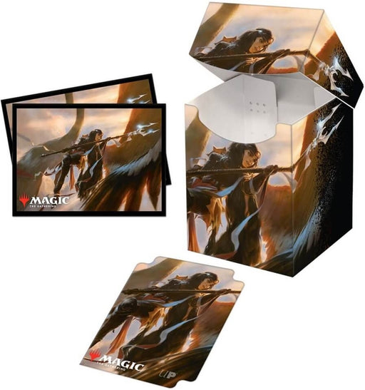 Ultra Pro Magic The Gathering Commander Legends Liesa, Shroud of Dusk 100+ Deck Box and 100ct sleeves