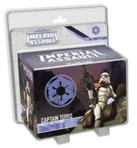 Star Wars: Imperial Assault  Captain Terro Villain Pack