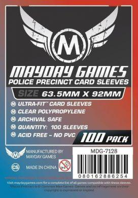 "Mayday Games ""Police Precinct"" Card Sleeves - 63.5 x 92mm (100)"