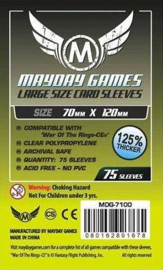 Mayday Games Large Card Sleeves - 70x120mm (75)