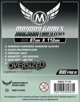 "Mayday Games ""Munchkin Dungeon Sleeves"" Magnum Oversized - 87 x 112mm (100)"