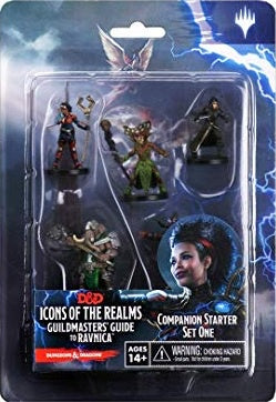 D&D Icons of the Realms Guildmasters Guide to Ravnica Companion Starter One