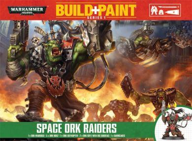 Warhammer 40,000: Build+Paint Space Ork Raiders