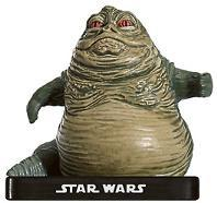 Star Wars Miniatures: 46 Jabba, Crime Lord