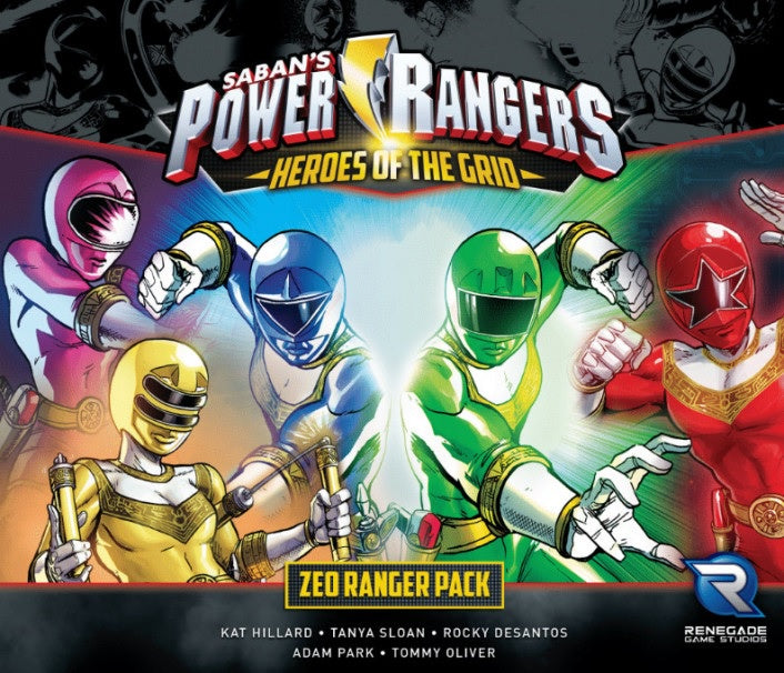 Power Rangers Heroes of the Grid Zeo Ranger Pack